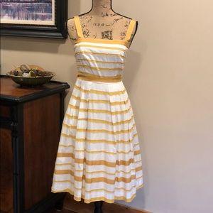 NWT Moulinette Soeurs Stripped Sundress - Size 2